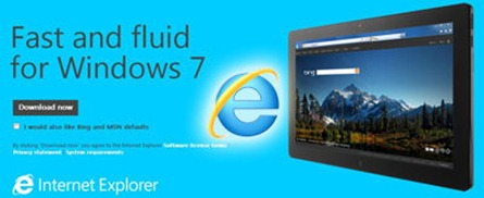 Internet Explorer 10 for windows 7 download