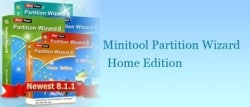 minitool disk partition wizard